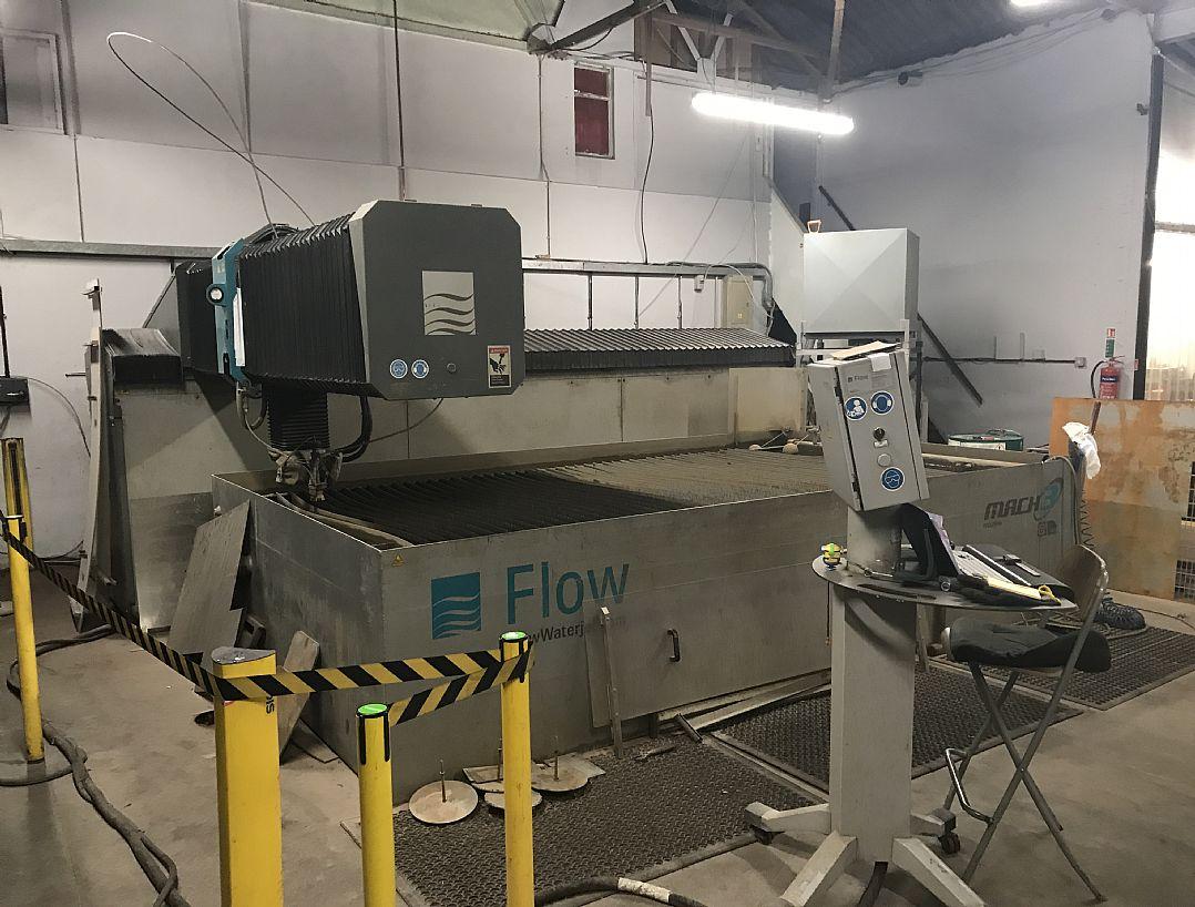 Machine for sale - Flow, Mach 3 4020B Dynamic - Laser Resale
